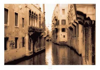 Impressão artística Venice Canal