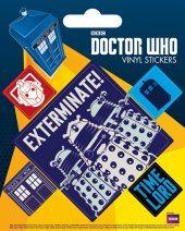 Autocolantes Doctor Who - Exterminate