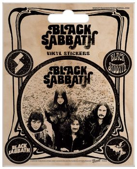 Black Sabbath - Vintage Autocollant