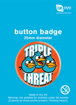 ANGRY BIRDS - Triple Threat Badges