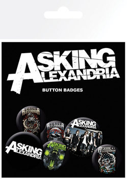 Asking Alexandria - Graphics Badge Pack
