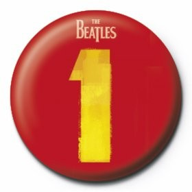 BEATLES - number 1 Badges