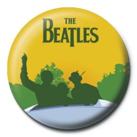 BEATLES - sunny Badge