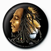 BOB MARLEY - jurek Badge
