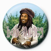 BOB MARLEY - rollin Badge