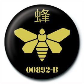 Breaking Bad - Golden Moth Badges