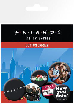 FRIENDS – characters Badge Pack