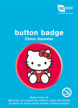 Hello Kitty – Sat Badge