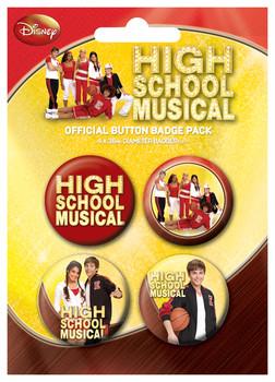 HIGH SCHOOL MUSICAL - gym Badge Pack