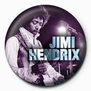 JIMI HENDRIX (EXPERIENCE) Badges