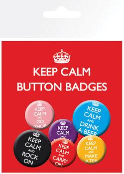 KEEP CALM Badge Pack
