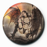 Luis Royo - Black Tinkerbell Badges