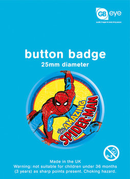MARVEL - spider-man Badge