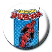 MARVEL - spiderman / retro Badge