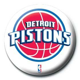 NBA - detroit pistons logo Badges
