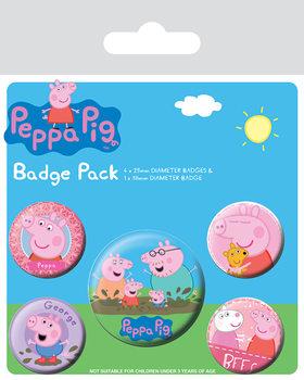Peppa Pig Badge Pack