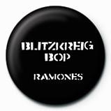 RAMONES - Blitzkreig Bop Badge