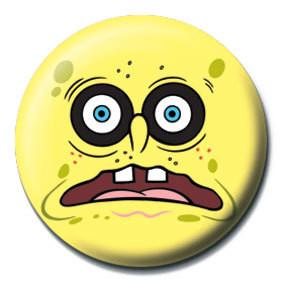 SPONGEBOB - black eyes Badge