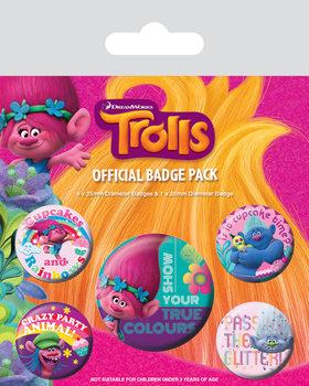 Trolls - True Colours Badge Pack