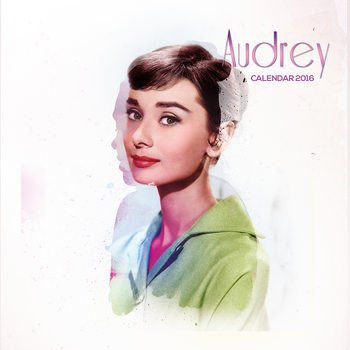 Calendar 2018 Audrey Hepburn