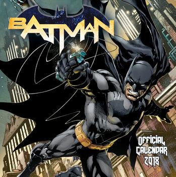 Calendar 2018 Batman Comics