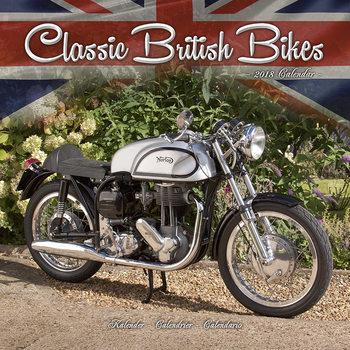 Calendar 2018 Classic British Bikes