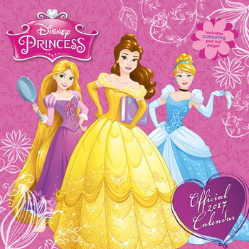 Calendar 2017 Disney - Princess