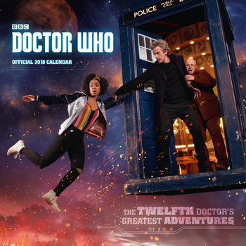 Calendar 2018 Doctor Who