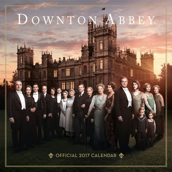 Calendar 2017 Downtown Abbey