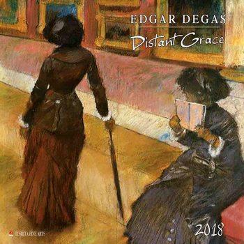 Calendar 2018 Edgar Degas - Distanz Grace