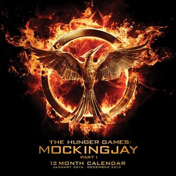 Calendar 2017 Hunger Games: Mockingjay Part 1