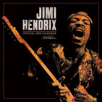 Calendar 2018 Jimi Hendrix
