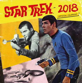 Calendar 2018 Star Trek - TV Series