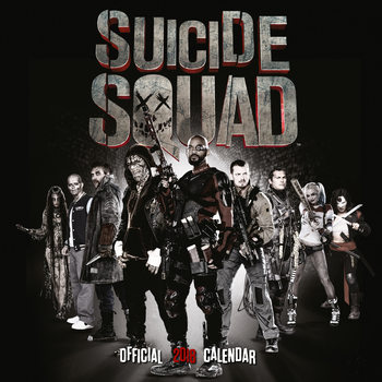 Calendar 2018 Suicide Squad