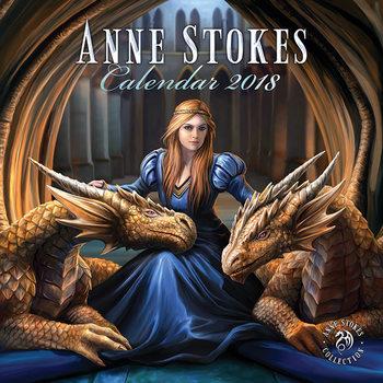 Calendário 2018 Anne Stokes