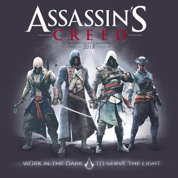 Calendário 2018 Assassins Creed Game