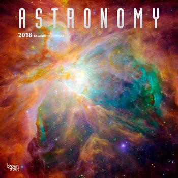 Calendário 2018 Astronomy