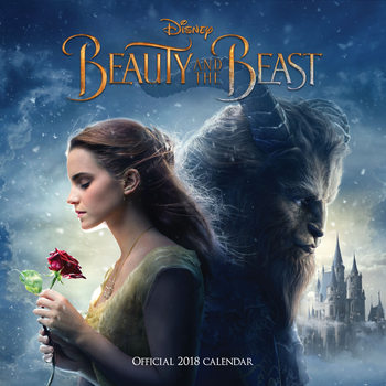 Calendário 2018 Beauty And The Beast