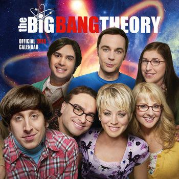 Calendário 2018 Big Bang Theory
