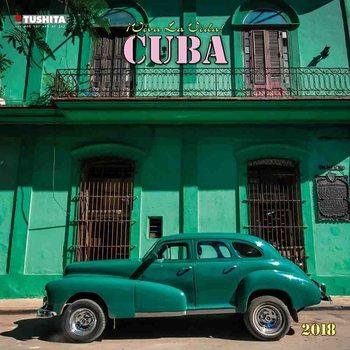 Calendário 2018 Buena Vista Cuba