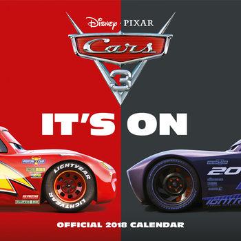 Calendário 2018 Cars 3
