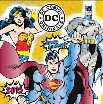 Calendário 2017 DC Comics
