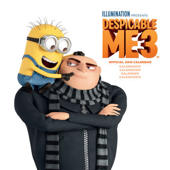 Calendário 2018 Despicable Me - Multi Language