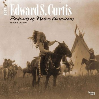 Calendário 2017 Edward S. Curtis: Portraits of Native Americans