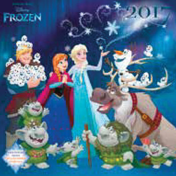 Calendário 2017 Frozen