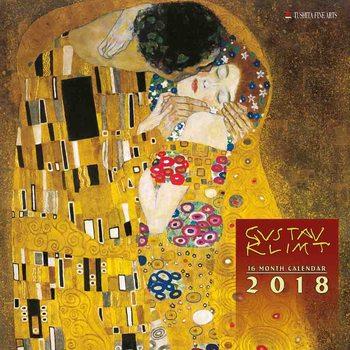 Calendário 2018 Gustav Klimt