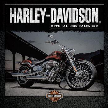 Calendário 2017 Harley Davidson
