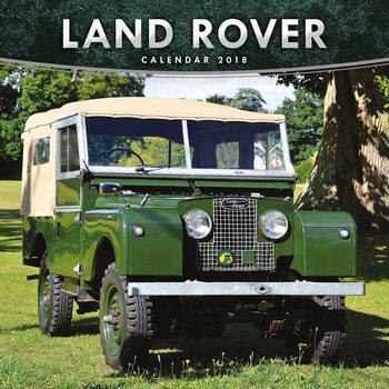 Calendário 2018 Land Rover