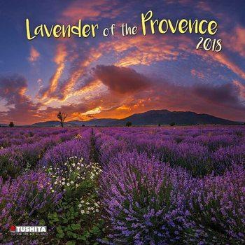 Calendário 2018 Lavender of the Provence