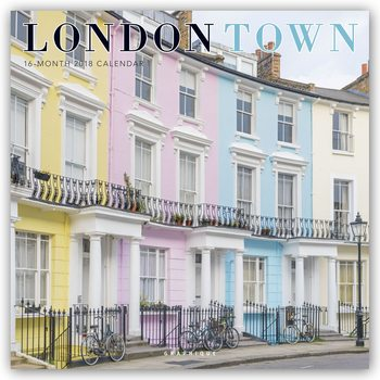Calendário 2018 London Town
